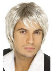 Boy Band Brown & Blonde Wig